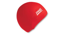 Zoggs Silicone Cap Standard rot